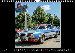 Ford Capri Kalender April 2017