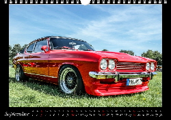Ford Capri Kalender September 2017